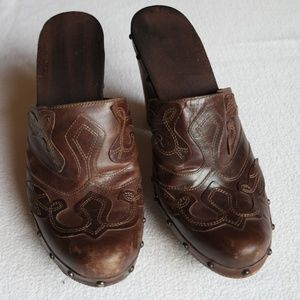 Shoes - Western Style Clog/Mule